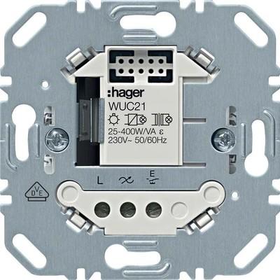 Hager Schalteinsatz 1-fach ch elektronisch 2-Draht WUC21