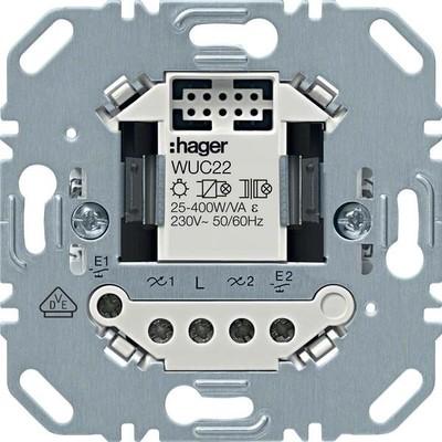 Hager Schalteinsatz 2-fach ch elektronisch WUC22