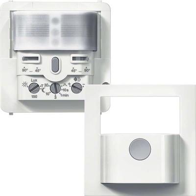 Hager BWM Sensor Komfort 1,1m, brillantweiß WYW510C