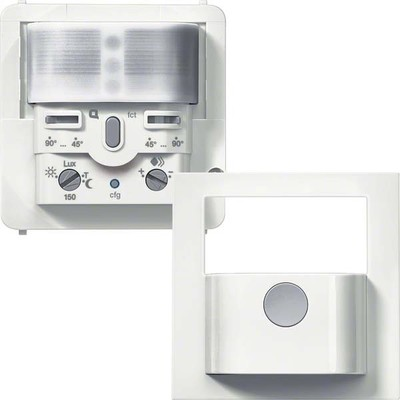 Hager Funk BWM Sensor Komfort 1,1m q.-link, b.weiß WYW510Q