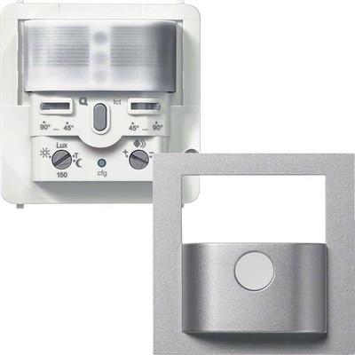 Hager Funk BWM Sensor Komfort 1,1m,q.-link, silber WYW516Q