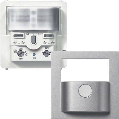 Hager Funk BWM Sensor Komfort 2,2m,q.-link, silber WYW526Q