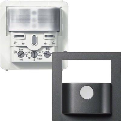 Hager BWM Sensor Komfort 2,2m, anthrazit WYW527C