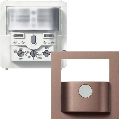 Hager BWM Sensor Komfort 2,2m, bronze WYW528C