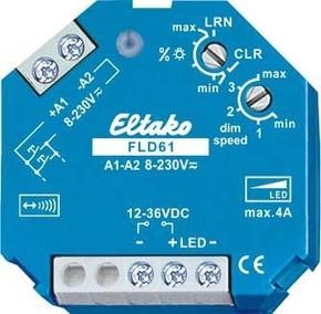 Eltako Funkaktor Dimmschalter PWM-LED,12-36VDC,4A FLD61