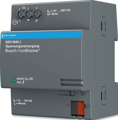 Busch-Jaeger Spannungsversorgung 640 mA 6201/640.1