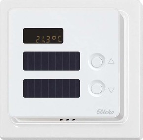Eltako Funk-Temperaturregler reinweiß glänzend FTR65DS-wg