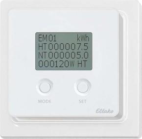 Eltako Energieverbrauchsanzeige reinweiß glänzend FEA65D-wg