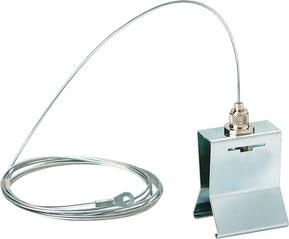 Ridi-Leuchten Tragschienenaufhänger Stahlseil b.1,5m VLTHS