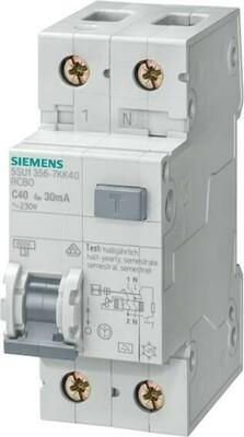 Siemens Indus.Sector FI/LS-Schutzeinrichtung C,10A,1+N,30mA,6kA 5SU1356-7KK10