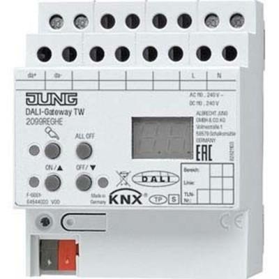 Jung KNX DALI-Gateway TW REG 4 TE 2099 REGHE