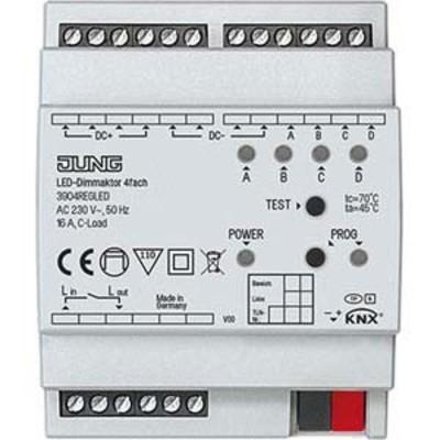 Jung KNX Universal-Dimmaktor LED 4-fach REG 3904 REG LED
