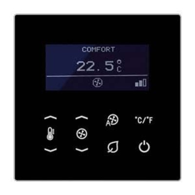 Jung KNX Raumtemperatur-Display Busankoppler TRD LS 9248 SW