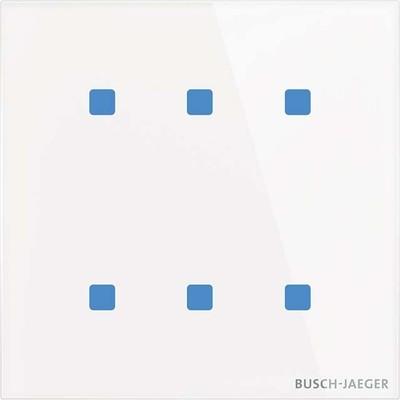 Busch-Jaeger Touch-Bedienelement 6-fach TB/U6.4.11-CG
