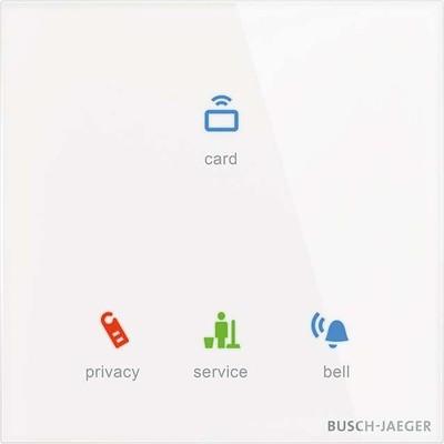 Busch-Jaeger Raumaussensensor mit Kartenleser TLM/U.1.11-CG