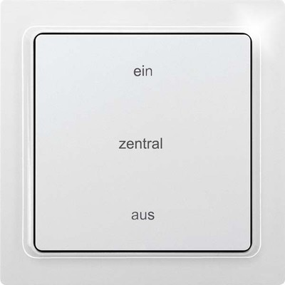 Eltako Funk-2K-Zentr.steuertaster taster F2FZT65B-wg