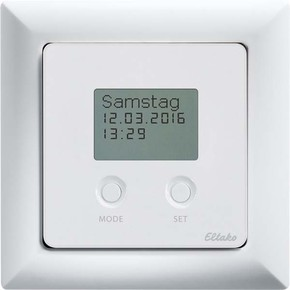 Eltako Funksensor Schaltuhr mit Display, reinweiß gl. FSU55D/230V-wg