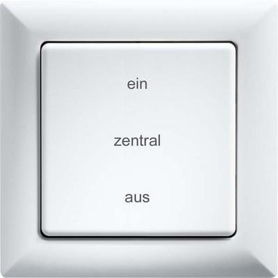 Eltako Funk-2K-Zentr.steuertaster taster FZT55-wg