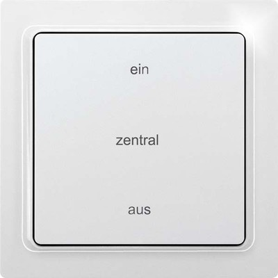 Eltako Zentralsteuertaster Tipp-Funk-2-Kanal TF-2ZT