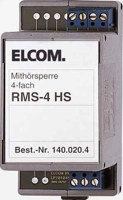 Elcom Mithörsperre für 4 Teilnehmer RMS-4 HS