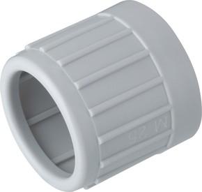 Fränkische Kunststoff-Endtülle grau E-Ku-E 20