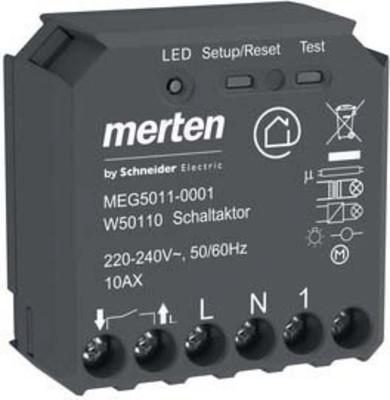 Merten Wiser Schaltaktor 1-fach UP MEG5011-0001