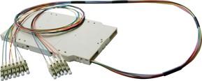 Corning Pigtail-Modul mit 12SC 9/125 2m FMP-12C9