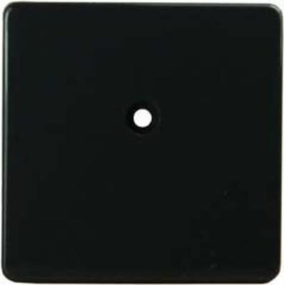 Homeway HW-ZP-B Zentralplatte 50mm anthrazit HAXHSE-G0001-S000