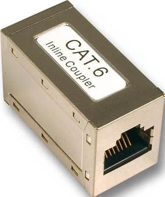 EFB-Elektronik Modular-Kupplung 1:1 RJ45 Cat.6 geschirmt 37489.1