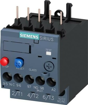 Siemens Indus.Sector Überlastrelais 5,5-8,0A 3RU2116-1HB0