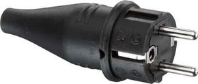 ABL Sursum Gummi-Stecker schwarz IP44 1419190