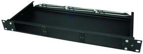 Telegärtner Baugruppenträger 1HE schwarz 482,6mm(19Z) H02030A4625