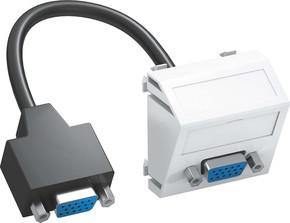 OBO Bettermann Vertr Multimediaträger VGA 45x45mm reinweiß MTS-VGA F RW1