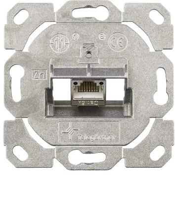 Telegärtner Modulaufnahme AMJ-S 1-fach ch UP/0flex Cat6A T568A J00020A0514