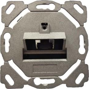 Setec Anschlussdose Kat6A design 1xRJ45,EK/0-D,vk TN-CAT6A 1EK/0 vk