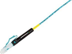 Corning NPC LC-Stecker 50µ OM3/OM4 schwarz aq 6832-T/50/LOMMF1.6-2