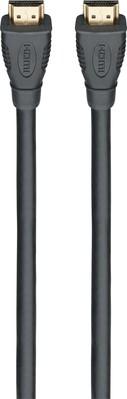 Rutenbeck Anschlusskabel schwarz AKE HDMI 5m