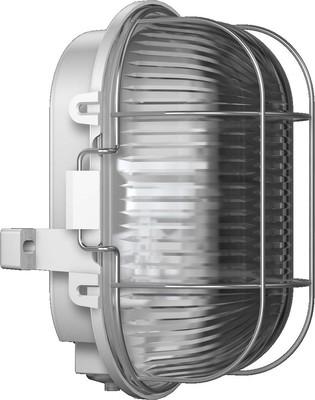 RZB Kunststoff-Ovalleuchte grau A60 60W 50500.889.1