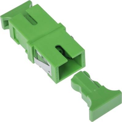 Corning SC/APC-Kupplung SM Simplex grün ohne Flansch 05-751-20800