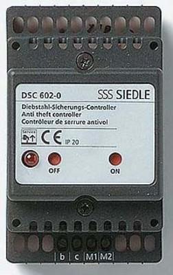 Siedle&Söhne Diebstahlschutz-Controller im Schalttafelgeh. DSC 602-0