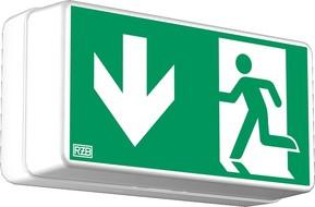 RZB Sicherheitsleuchte weiß LED 2,1W/3h 671707.002
