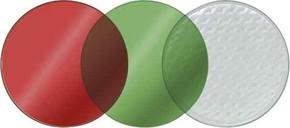 ESYLUX Vorsatzscheiben SL P rot, grün, klar EN100 50 145