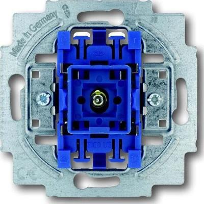 Busch-Jaeger Wippkontrollschalter 10A, m.Glimmlampe 2000/6 USK