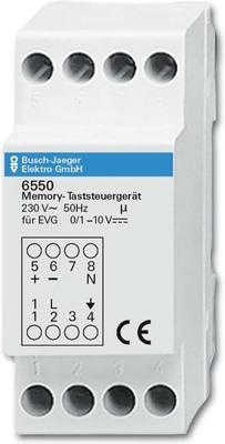 Busch-Jaeger Memo.Taststeuergerät f.Reiheneinbau 6550