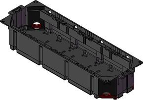 Tehalit Gerätebecher leer GBVR400