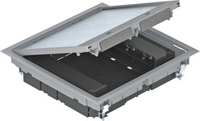 OBO Bettermann Vertr Geräteeinsatz f.Kanalmontage GES9 55U V 7011