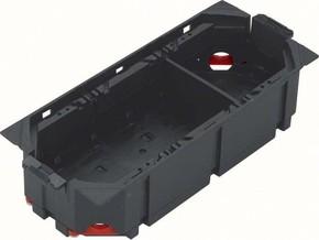 Tehalit Gerätebecher leer mit Trennwand GBVR300