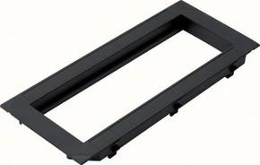 Tehalit Abdeckplatte für 3 Geräte Mosaik 2 Modul 45 GBMBV34R3