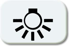 Busch-Jaeger Tastersymbol alpinweiß Licht 2525 LI-214