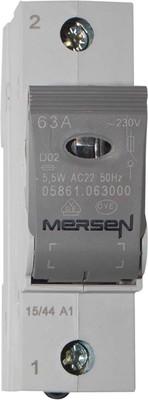 Mersen Lasttrennschalter NEOZED D02 63A/230/400V 1-p 05861.063000